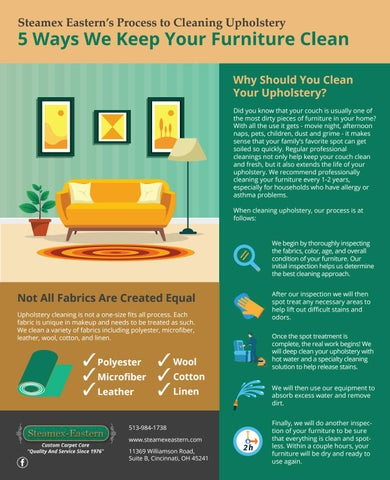 Amazing 5 Ways To Keep Your Furniture Clean By Avawilson8 Issuu Machost Co Dining Chair Design Ideas Machostcouk