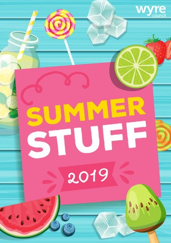 Page 1 of Summer Stuff 2019
