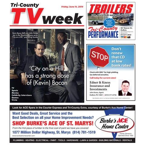 d13fef4e4ae TV Week, Friday, June 14, 2019 by Tri-County TV Week - issuu