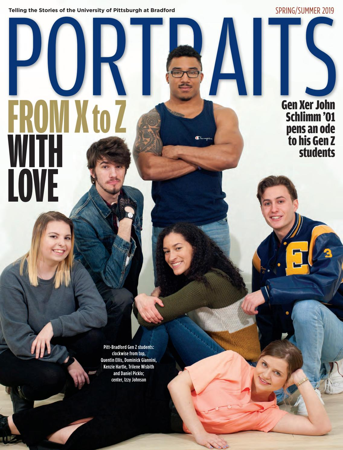 Portraits Magazine -- Spring-Summer 2019 by Portraits
