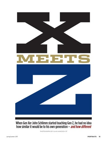 Page 17 of X meets Z
