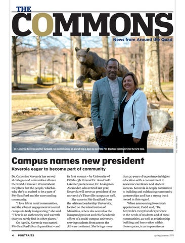 Page 6 of Campus names new president