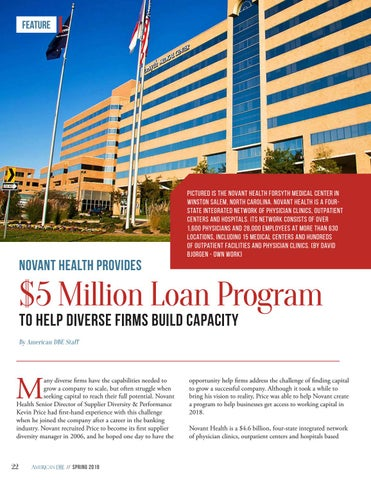 Page 22 of Novant Health Provides $5 Million Loan Program for Diverse Firms