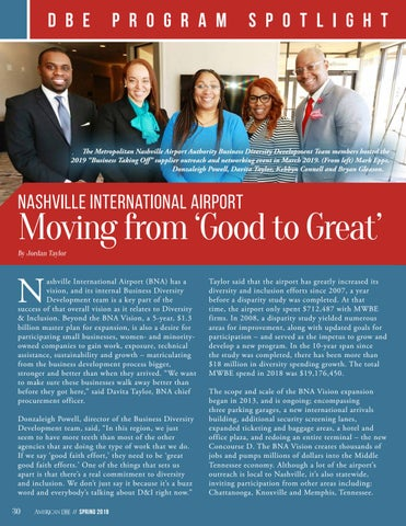 Page 30 of Nashville International Airport Moving from 'Good to Great'