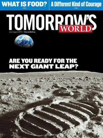 July-August 2019 by Tomorrow's World - issuu