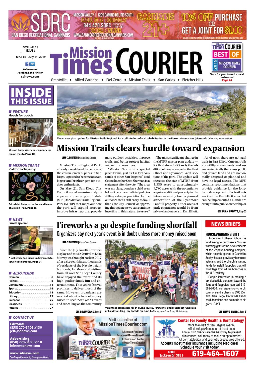 Mission Times Courier - Volume 25, Issue 6
