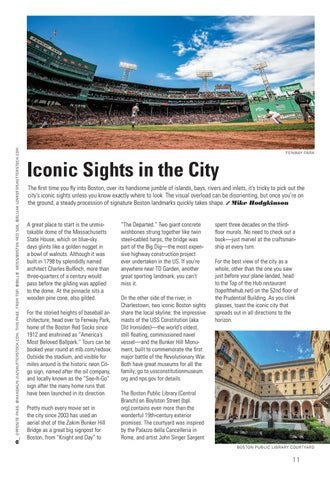 Page 13 of Iconic Sites of Boston