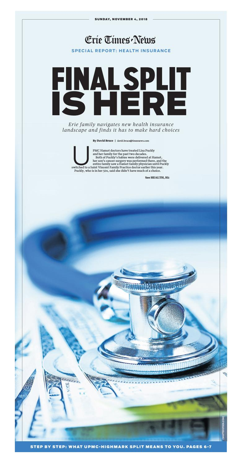 Health Insurance Special Section by ErieTimesNews - issuu