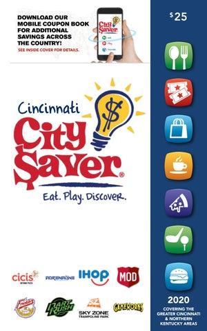 Phenomenal 2020 Cincinnati City Saver Coupon Book By Gaschoolstore Issuu Download Free Architecture Designs Lectubocepmadebymaigaardcom