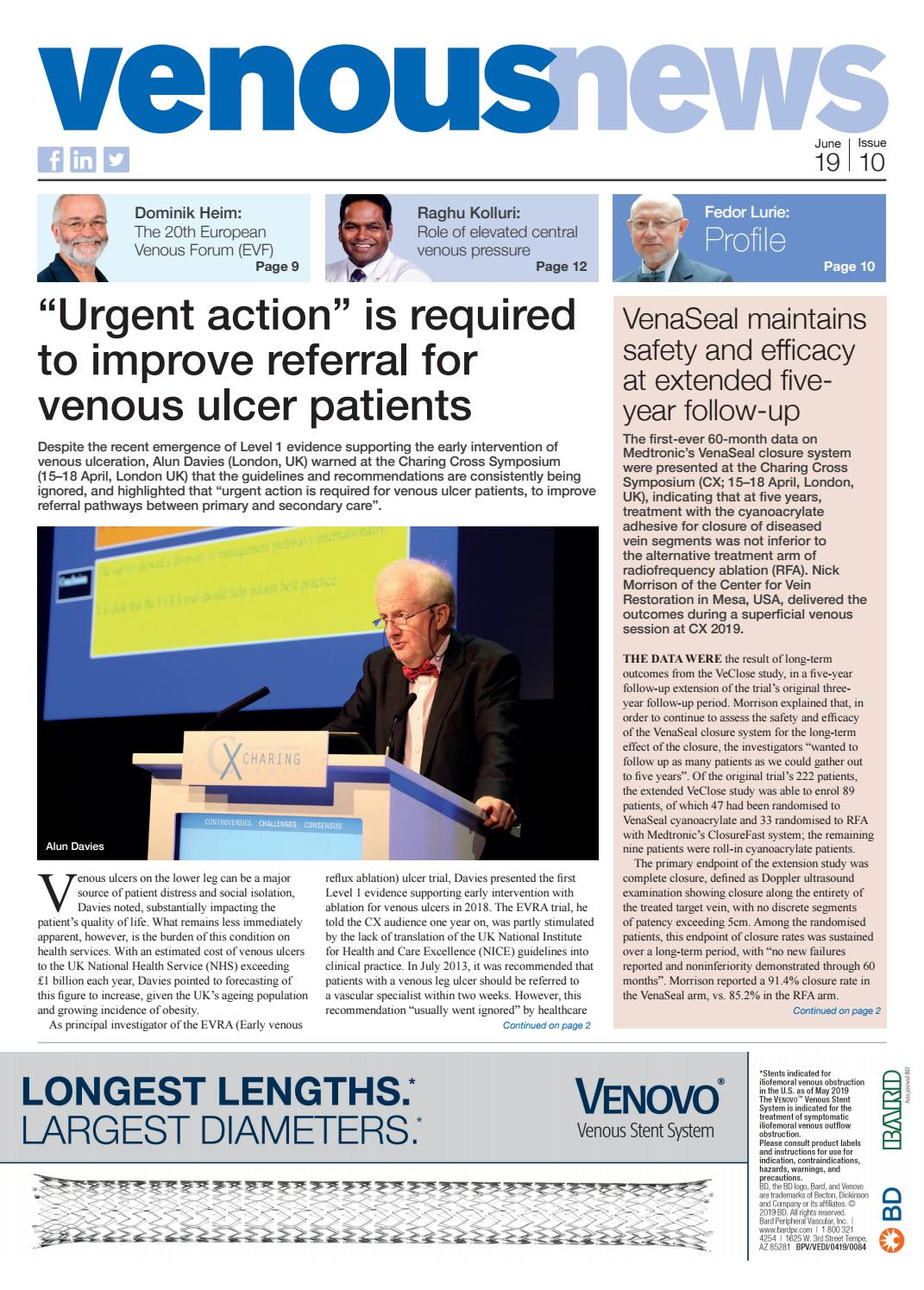 Michigan Ignored Conclusive Evidence Of >> Venous News Issue 10 June 2019 By Biba Publishing Issuu