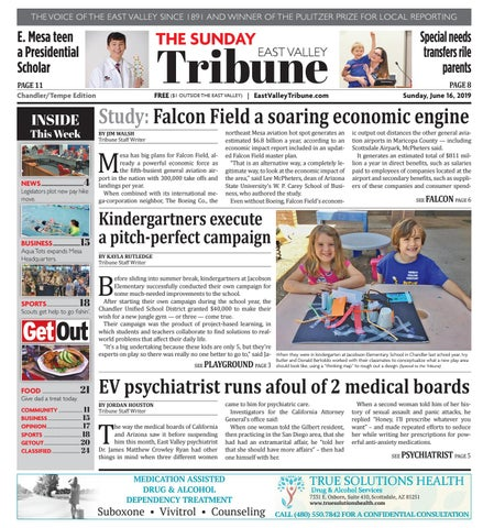 East Valley Tribune Chandler 06-16-2019 by Times Media Group