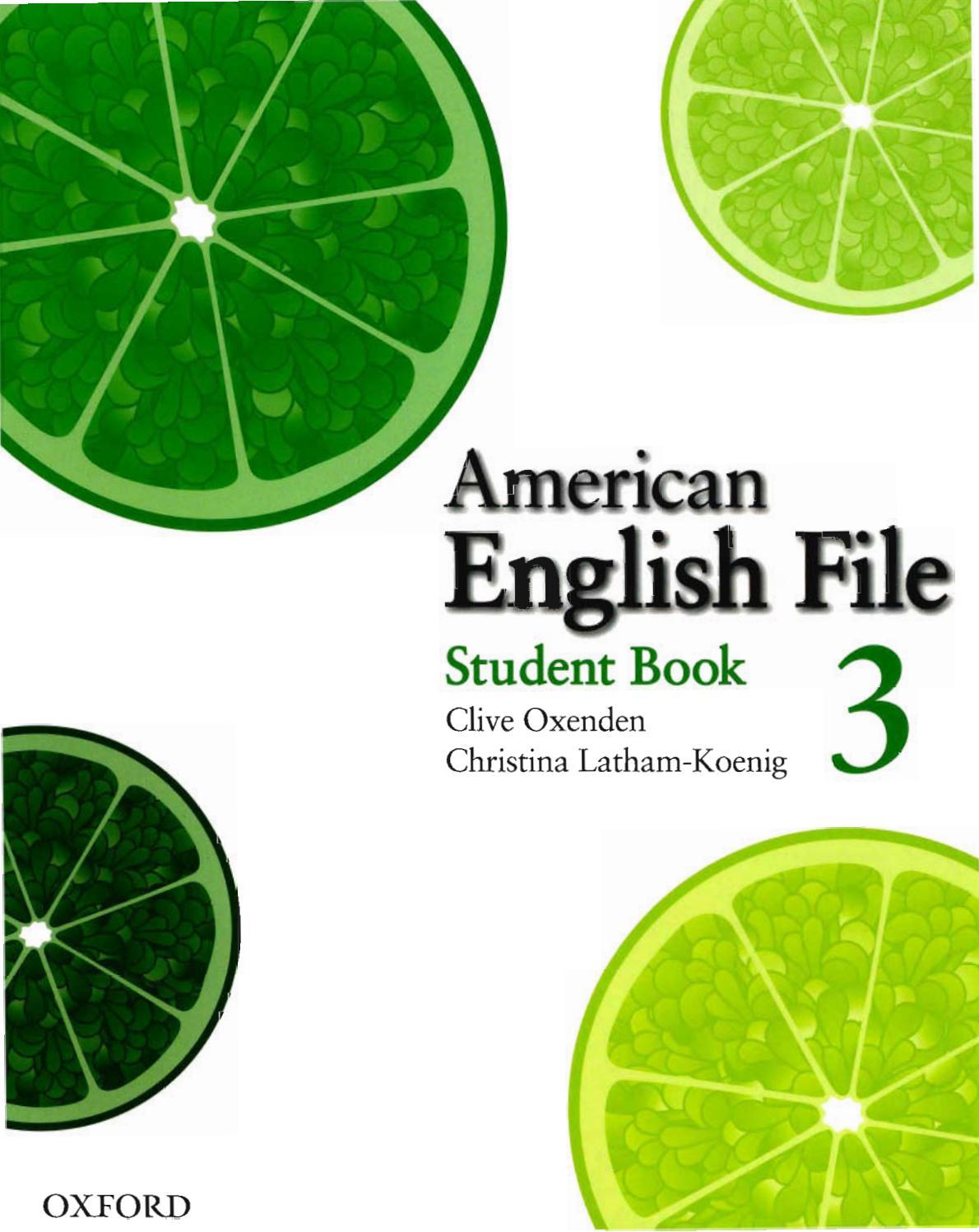 American English File 3 By Margaritaclavel18 Issuu [ 1497 x 1190 Pixel ]