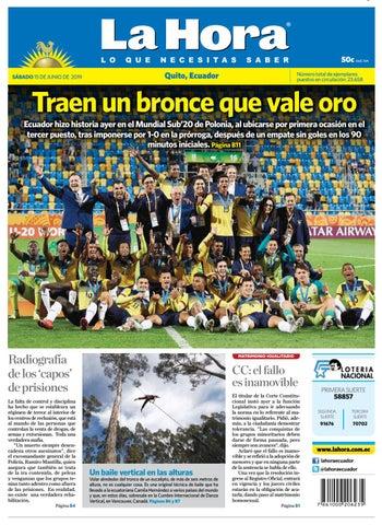 9998868c564cec Quito 15 de junio del 2019 by Diario La Hora Ecuador - issuu
