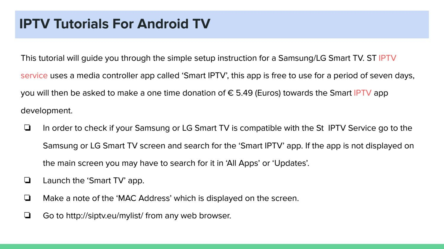 IPTV Tutorials For Android TV by Ismail - issuu
