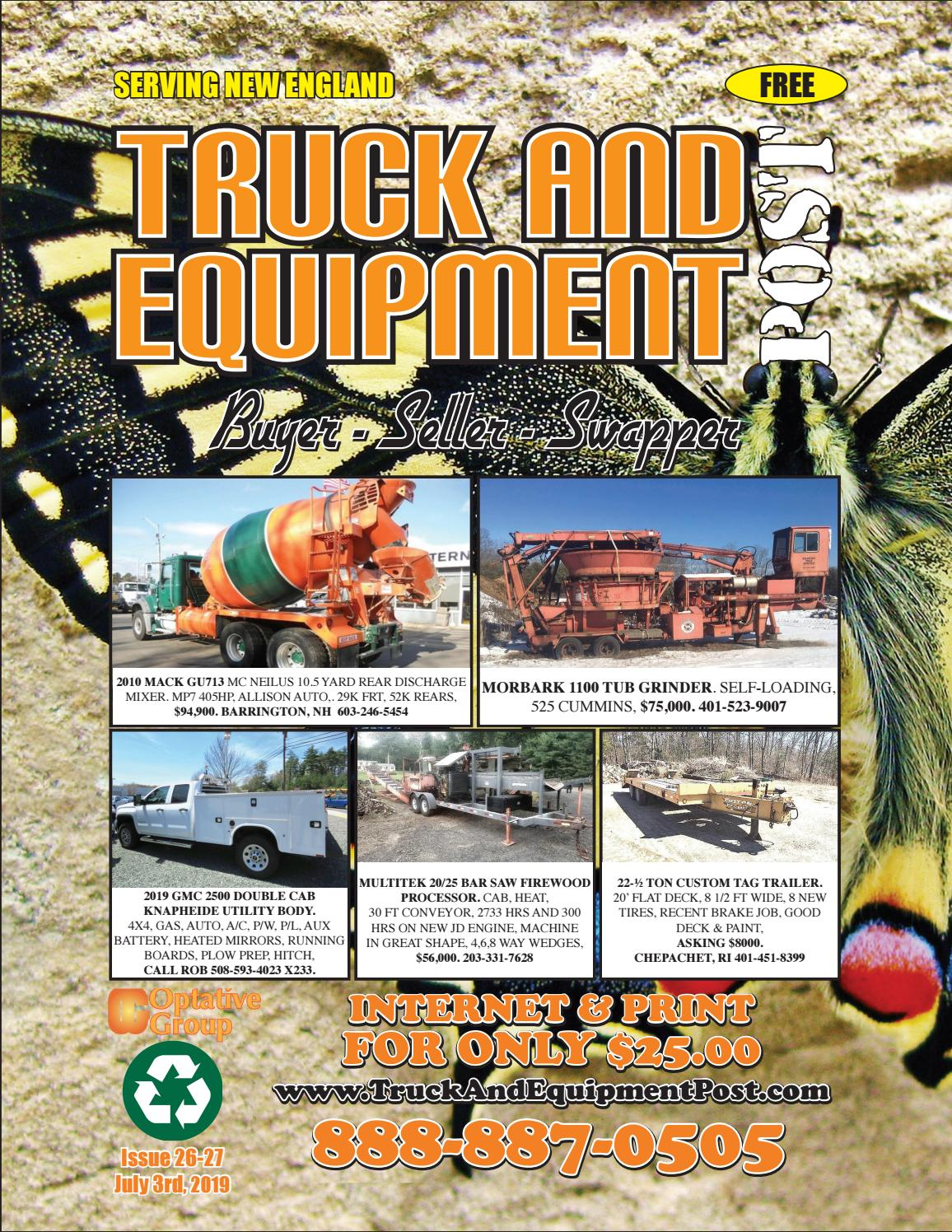 Truck And Equipment Post - Issue 26-27, 2019 by 1ClickAway