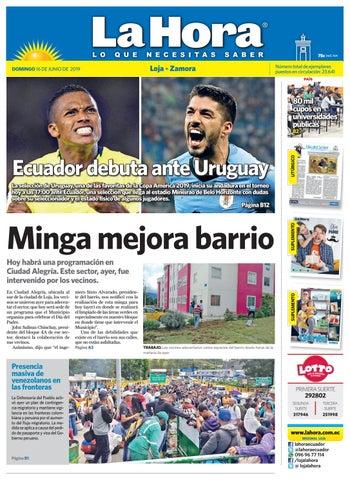 1f8619e08f7 Diario La Hora Loja 16 de Junio 2019 by Diario La Hora Ecuador - issuu
