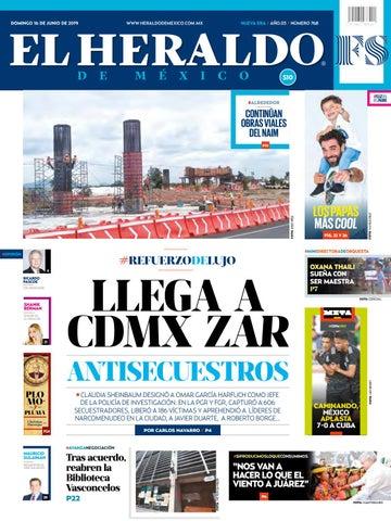 ebc706f3d Domingo 16 de junio de 2019 by El Heraldo de México - issuu