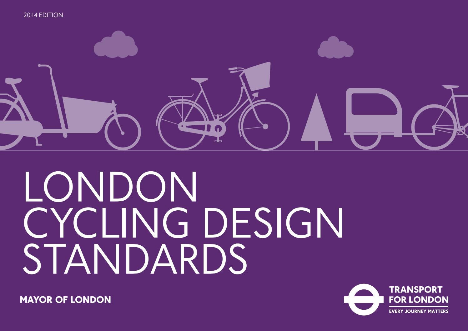 London Cycle Design Manual by The Atlantic Greenway Project   issuu