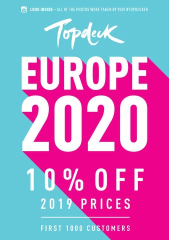AUD) Topdeck | Europe Pre-Release 2020 by Topdeck Travel - issuu