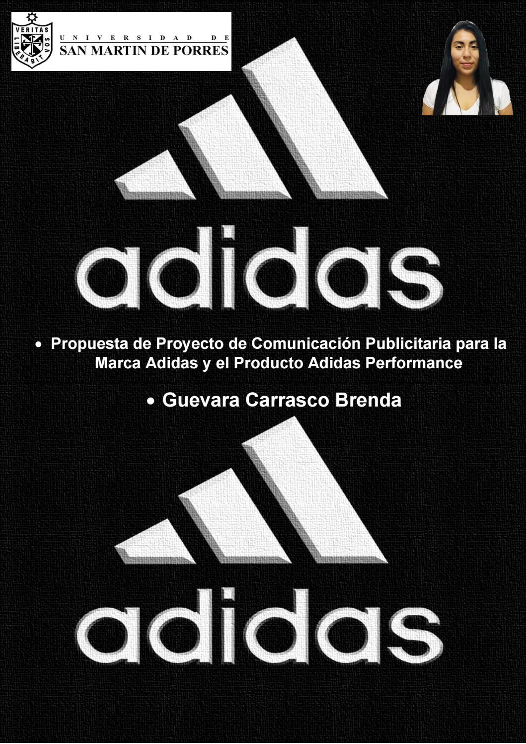 Racionalización Cuadrante amistad  Adidas Performance by brendaguevara1724 - issuu