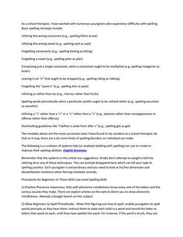 English spelling app by kristyhoney555 - issuu