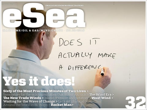 eSea 32 - Yes it does!
