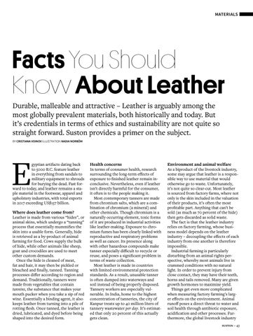 Page 43 of Facts You Should Know About Leather