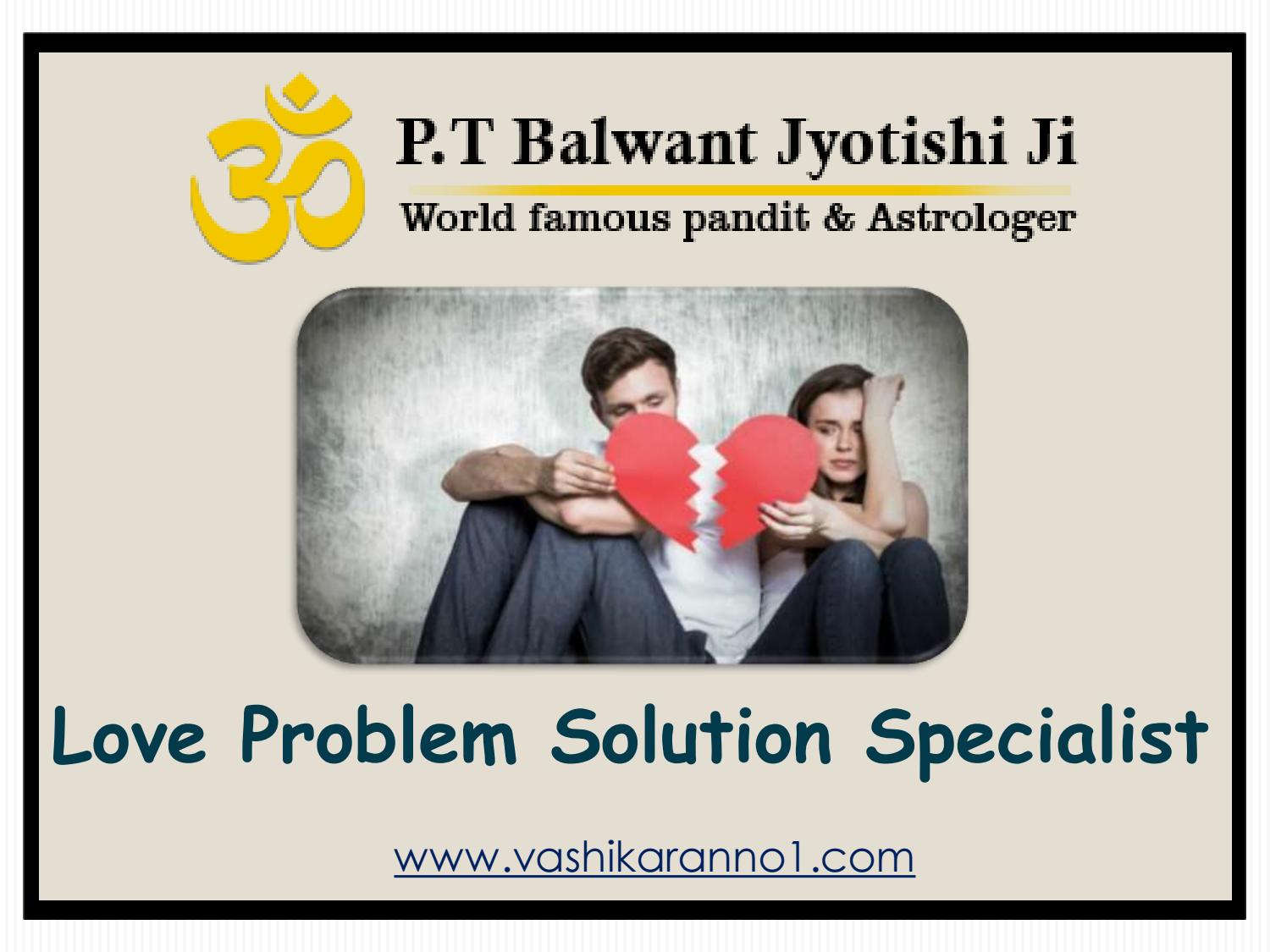 Lost Love Back Specialist in India - (+91-9950660034) - Pt