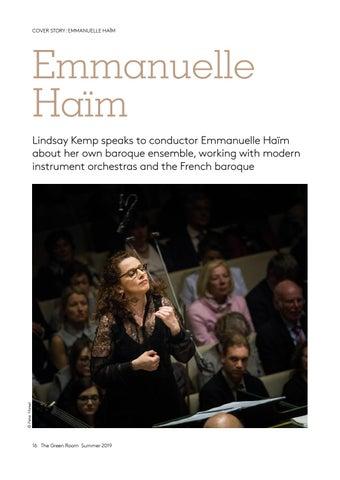 Page 16 of Cover story: Emmanuelle Haïm