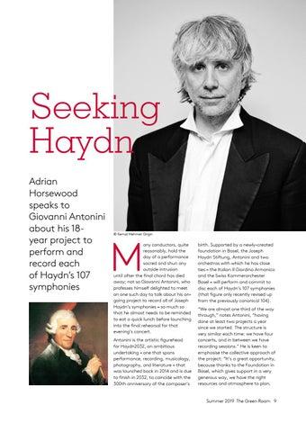 Page 9 of Seeking Haydn: Giovanni Antonini's Haydn2032