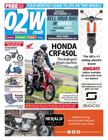 On Two Wheels July 2019 by Mortons Media Group Ltd - issuu