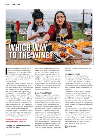 Page 36 of Which Way To The Wine? A Guide to Wine Etiquette