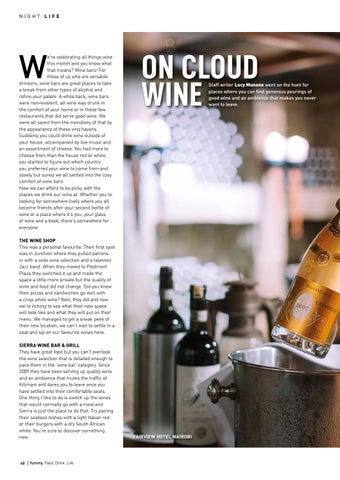Page 48 of On Cloud Wine