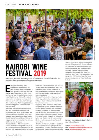 Page 54 of Nairobi Wine Festival Guide 2019