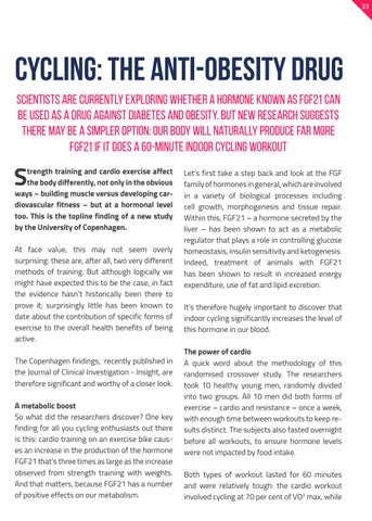 Page 33 of CYCLING - THE ANTI-OBESITY DRUG