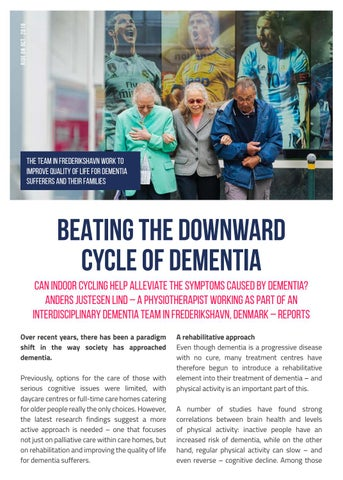 Page 8 of BEATING THE DOWNWARD CYCLE OF DEMENTIA