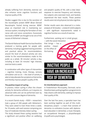 Page 9 of BEATING THE DOWNWARD CYCLE OF DEMENTIA