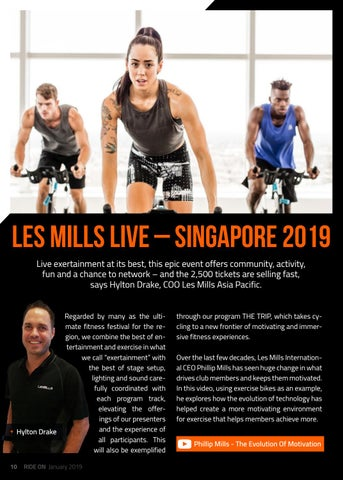 Page 10 of LES MILLS - LIVE SINGAPORE