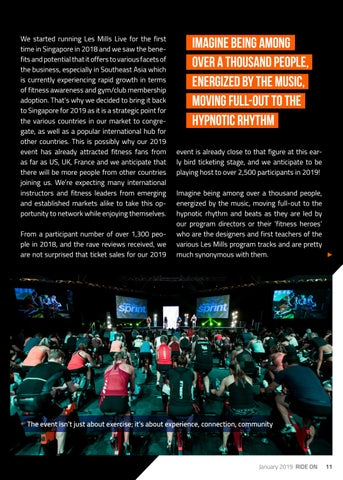 Page 11 of LES MILLS - LIVE SINGAPORE