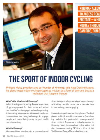 Page 30 of THE SPORT OF INDOOR CYCLING