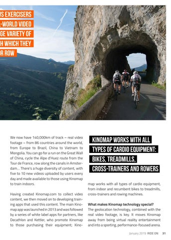 Page 31 of THE SPORT OF INDOOR CYCLING