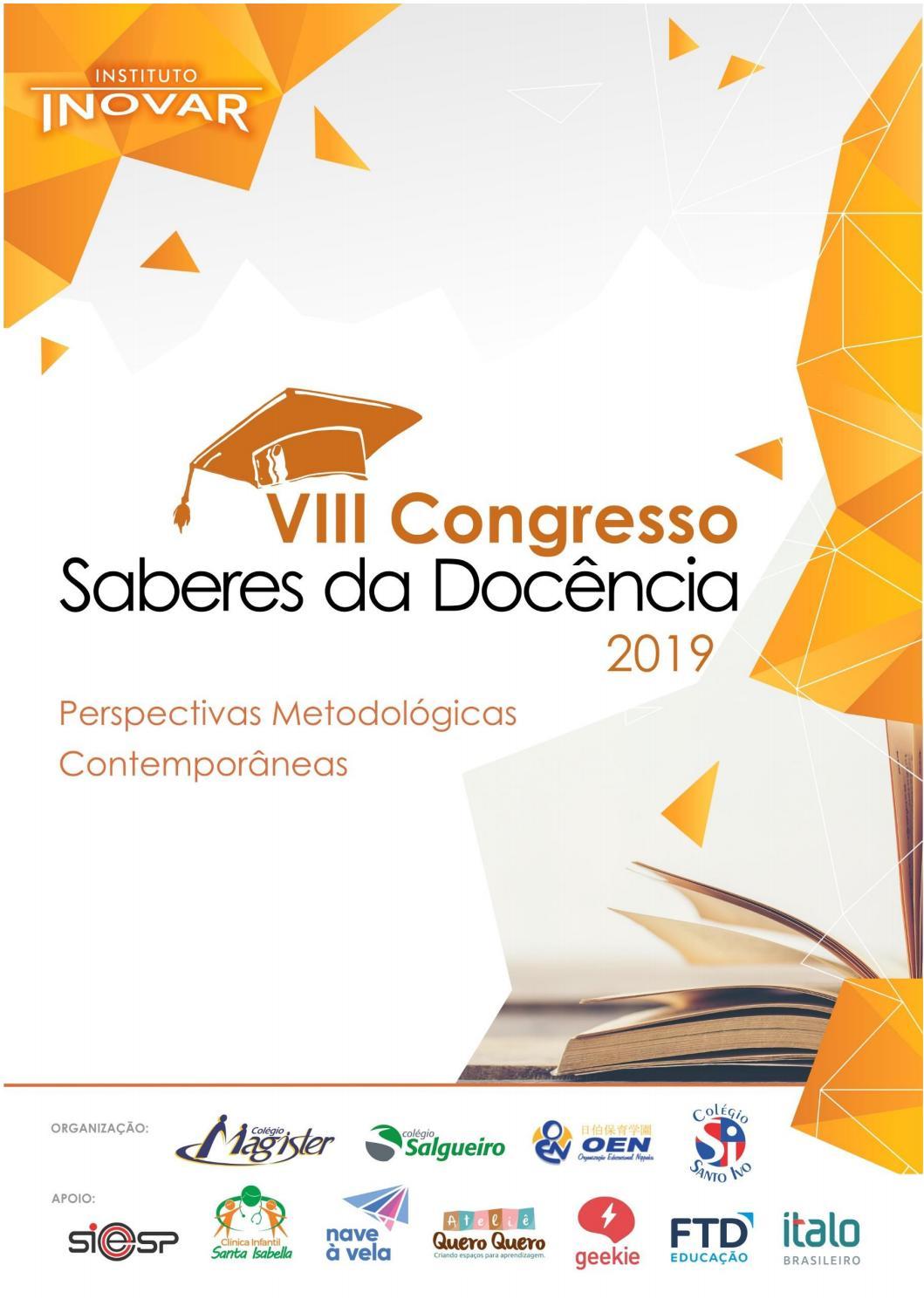 Folheto Viii Congresso By Inovar Instituto Issuu