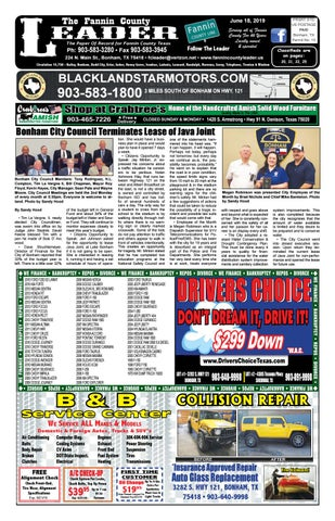 6-18-19 Leader E-Edition by The Fannin County Leader - issuu