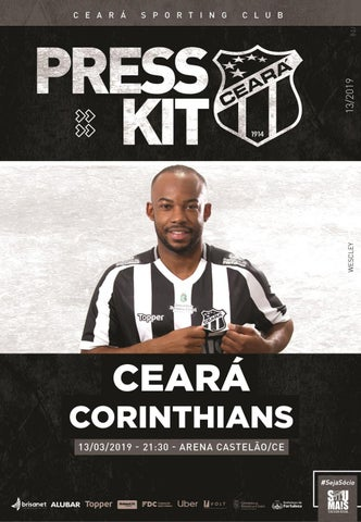 Ceara X Corinthians Presskit 13 2019 By Ceara Sporting Club Issuu