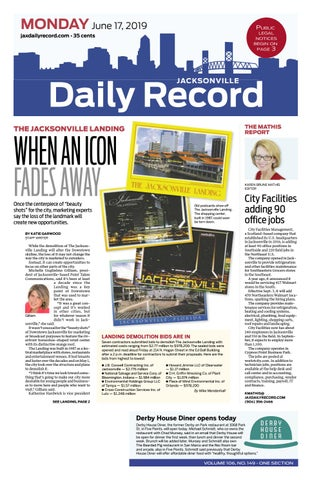 Jacksonville Daily Record 6 17 19 By Daily Record Observer
