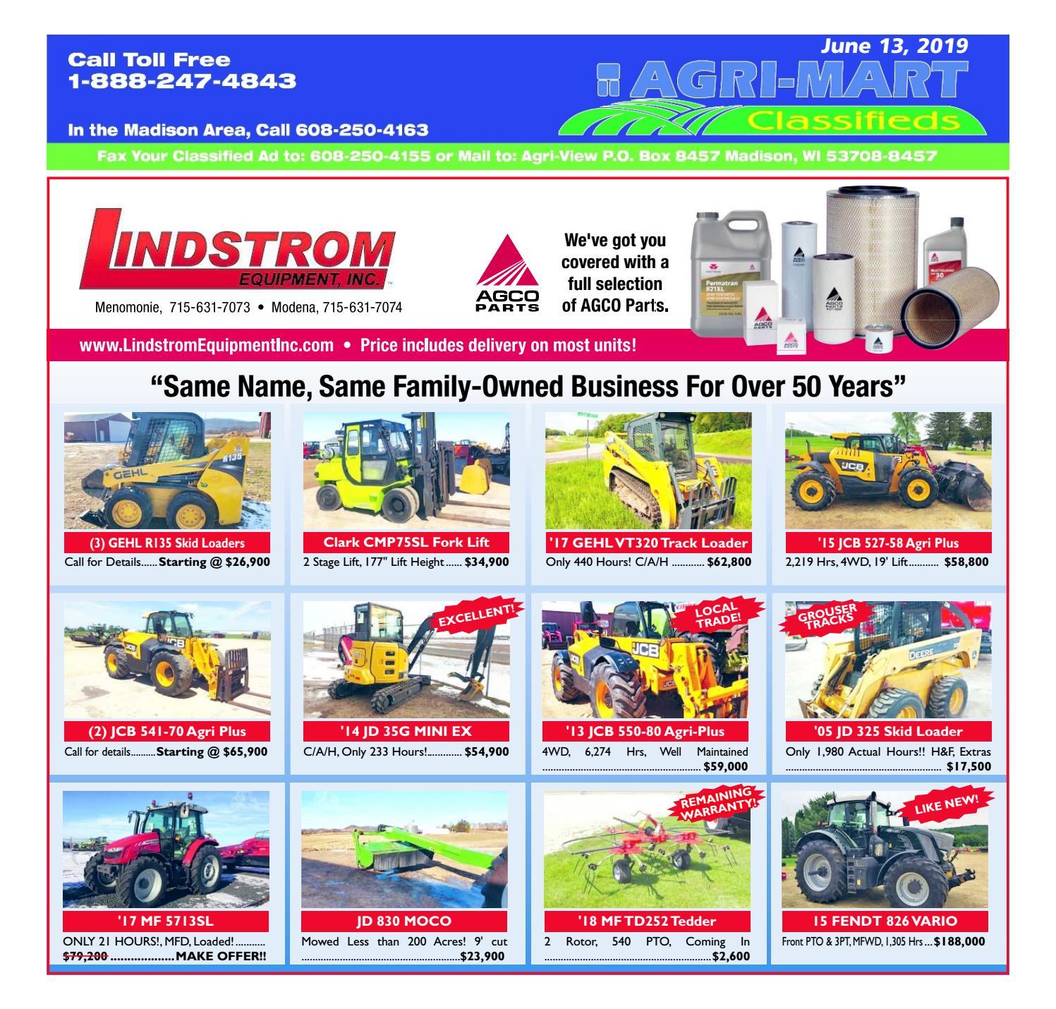 June 13, 2019 AgriMart by Madison com - issuu