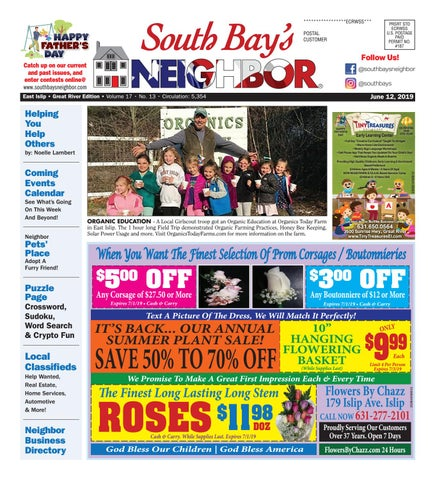 June 12, 2019 East Islip by South Bay's Neighbor Newspapers