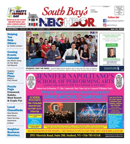 June 12, 2019 Seaford by South Bay's Neighbor Newspapers - issuu