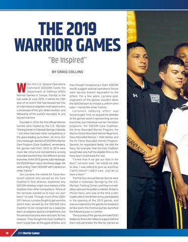 Page 12 of THE 2019 WARRIOR GAMES