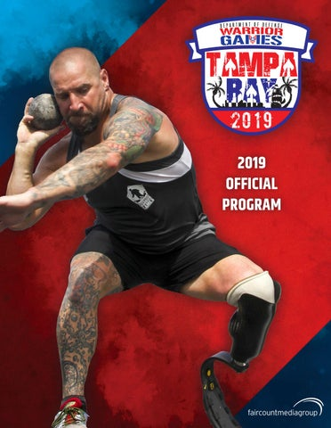 Department of Defense Warrior Games 2019 Official Program by